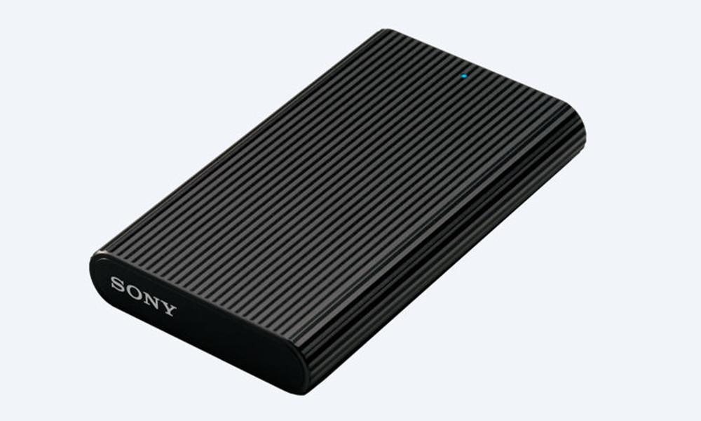 Sony SL-E de lado