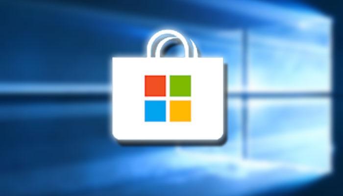 Logotipo de la tienda de Windows 10