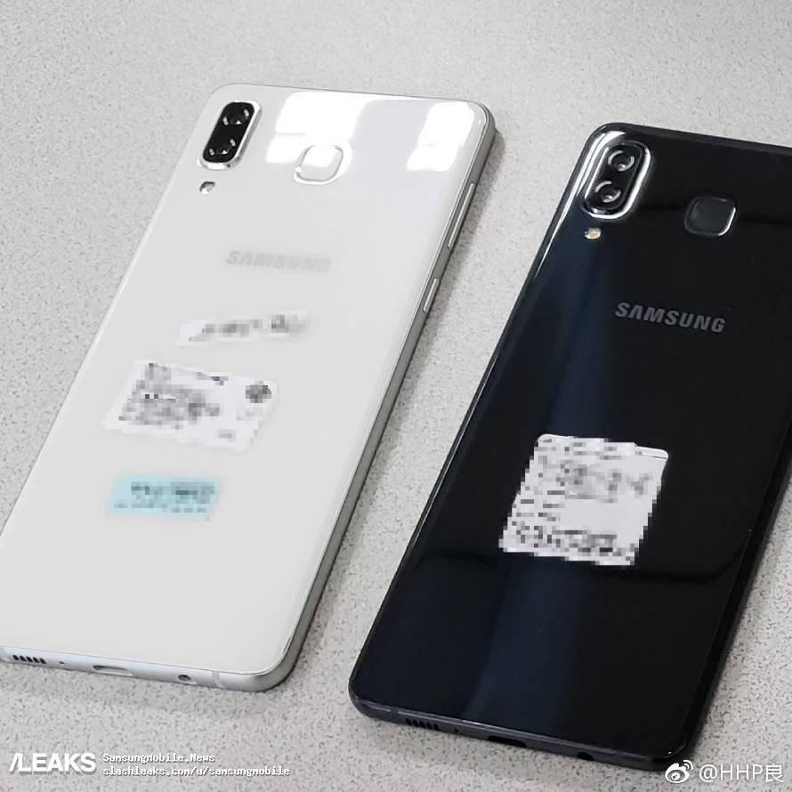 Foto imagen trasera del Samsung Galaxy A9 Star
