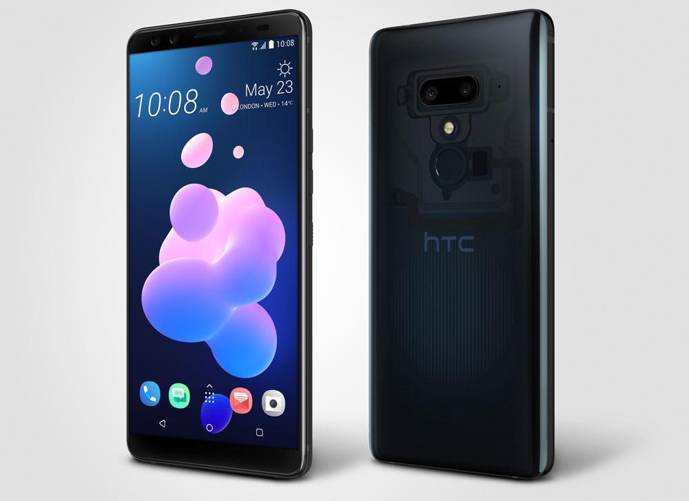 Teléfono HTC U12+ de color azul