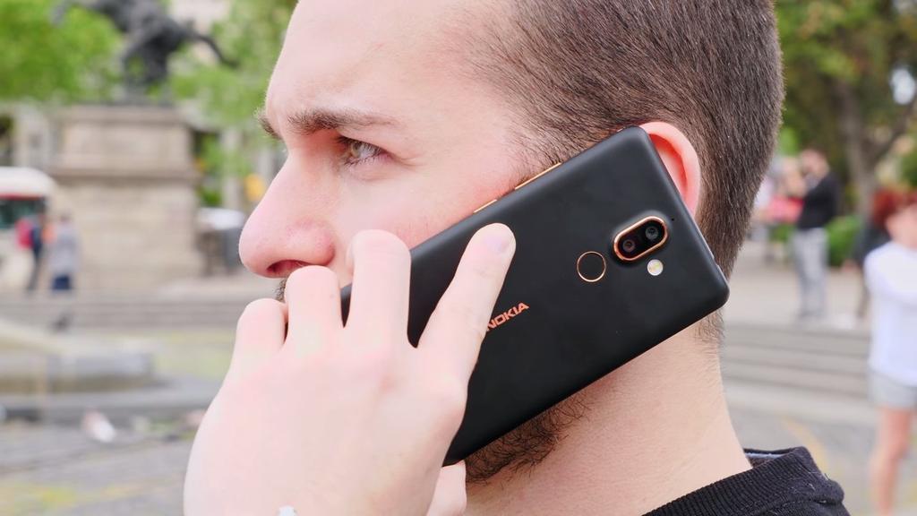 uso del teléfono Nokia 7 Plus