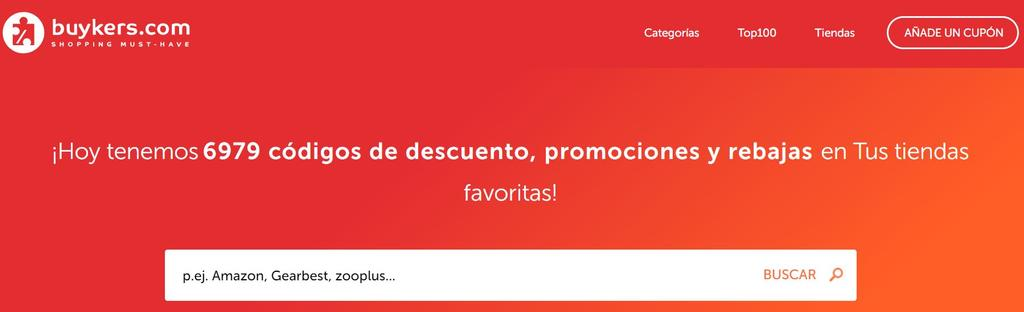 Página web de Buykers.com