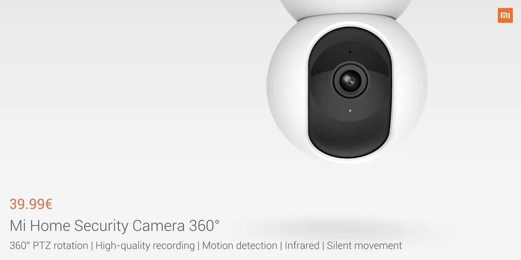 Cámara XiaomiMi Home Security Camera 360º