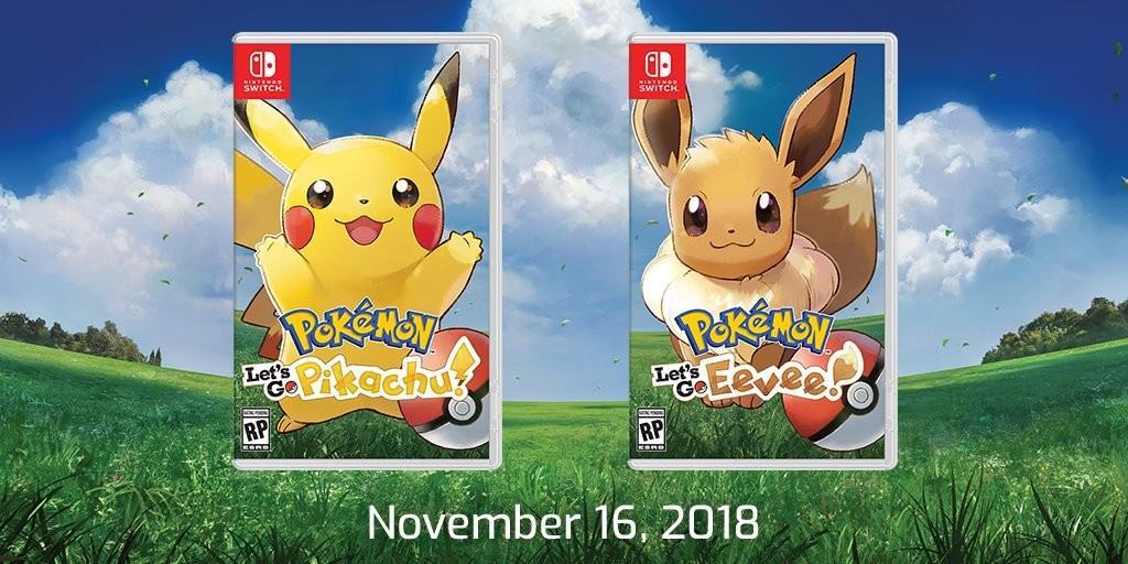 Variantes del juego Pokémon Let´s Go