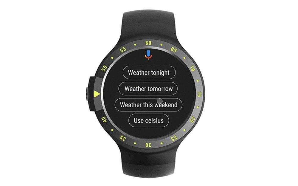 Sugerencias asistente de Google en Wear OS