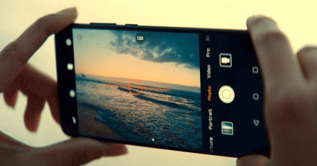 Uso de la cámara del Huawei P20 Pro