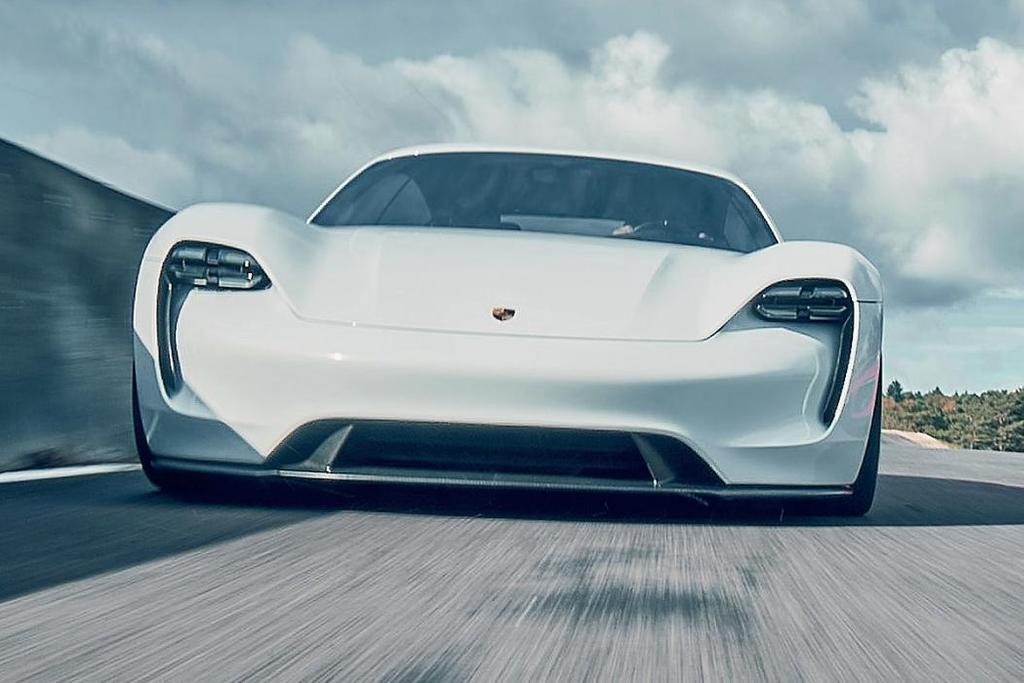 Coche eléctrico de Porsche (