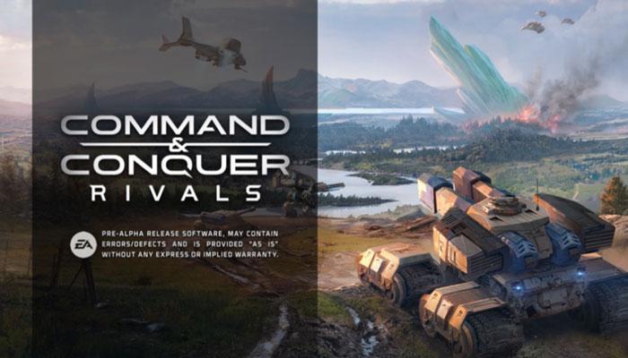 Juego Command & Conquer: Rivals