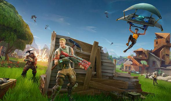 Uso de escopetas en Fortnite