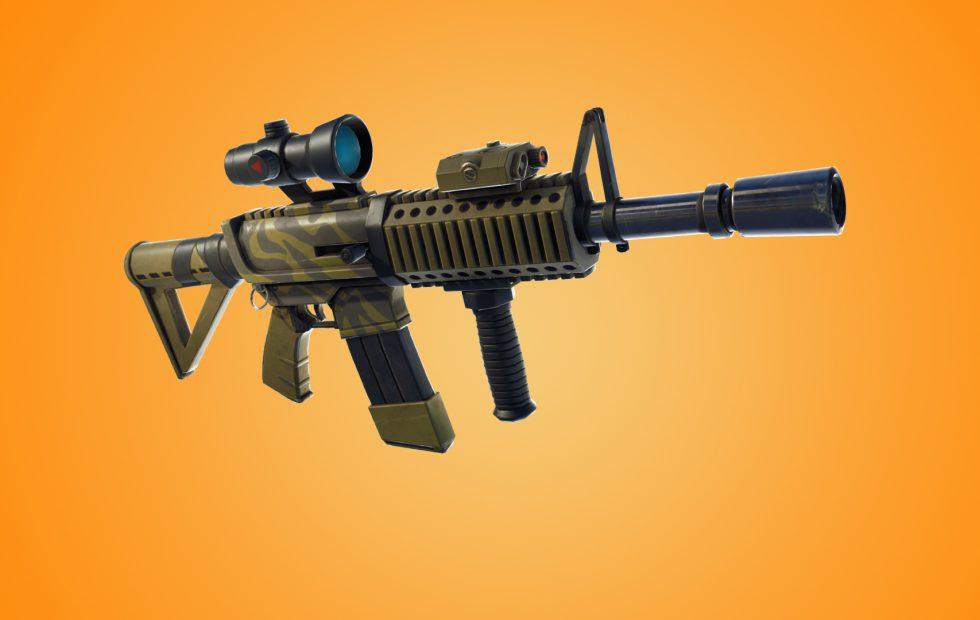 Rifle de asalto térmico en Fortnite