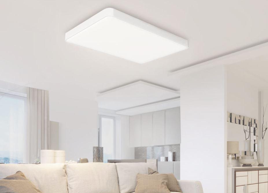 Uso en interior del la lámpara Xiaomi Yeelight LED Ceiling Light Pro