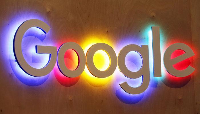 Logotipo de Google con colores