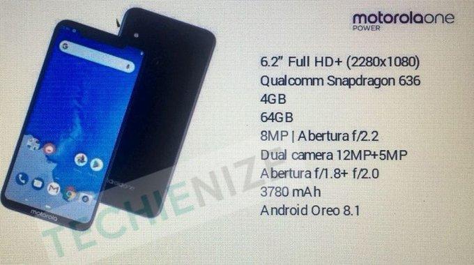 Características del Motorola One Power