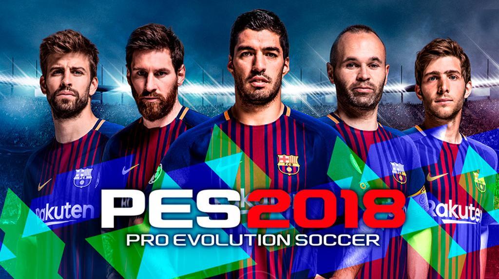 Portada de Pro Evolution Soccer 2018
