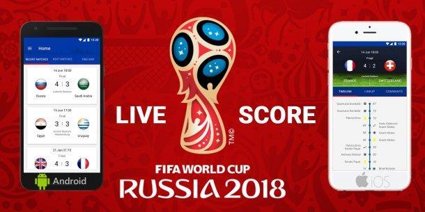 App oficial para ver el Mundial 2018