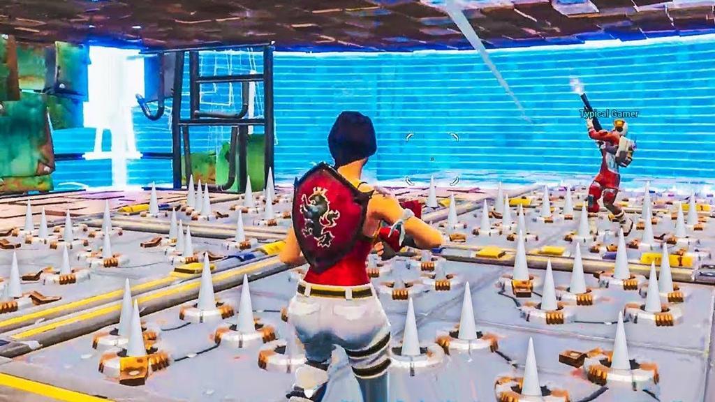 Trampa Spike en el juego Fortnite