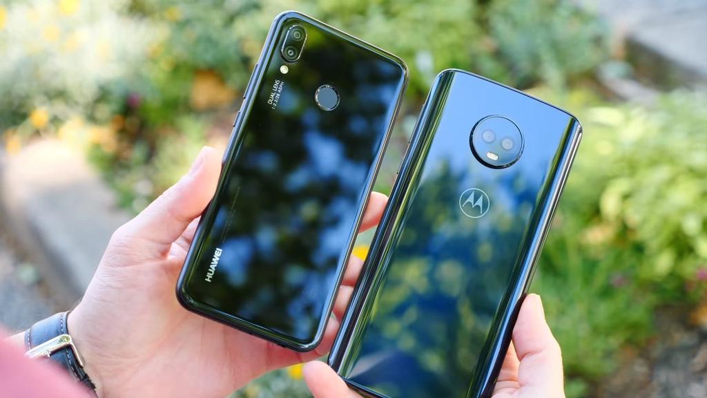 Cámaras del Huawei P20 Lite y el Moto G6 Plus