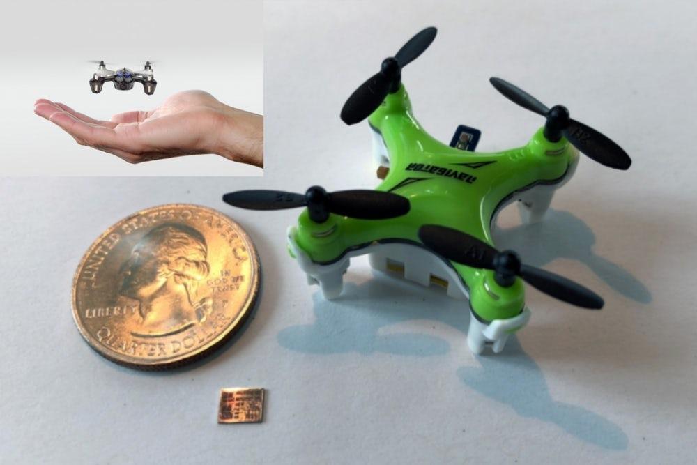 micro drones del MIT