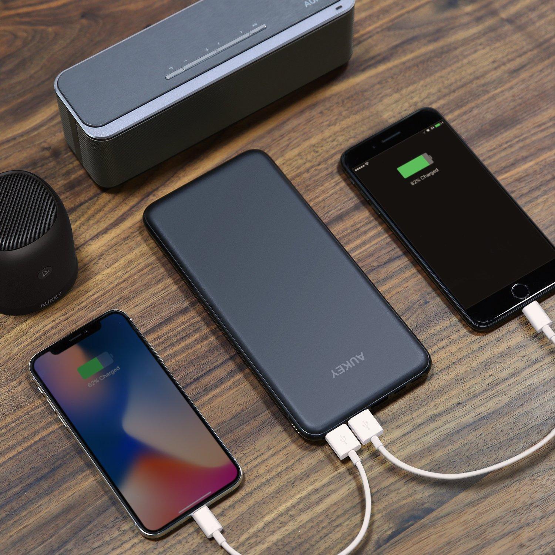 Uso de una batería externa USB