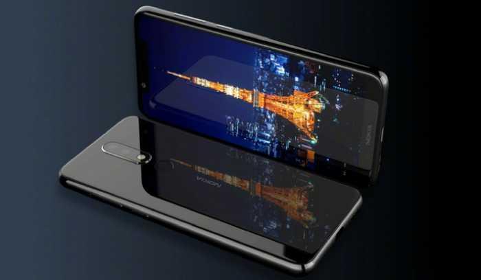 Diseño del teléfono Nokia X5