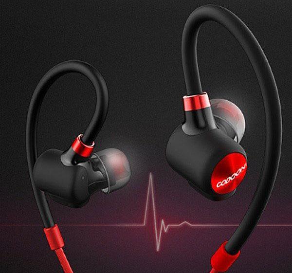 Diseño de los auriculares Xiaomi y Codoon
