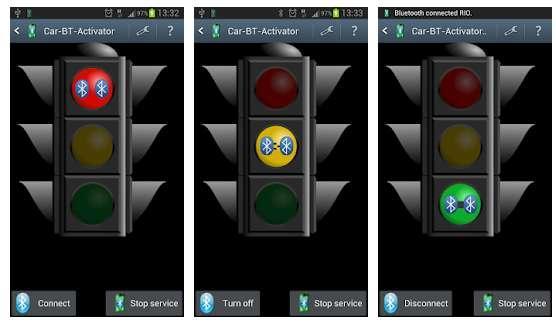 Aplicación Car-Bluetooth-Activator