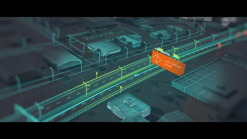 Funcionamiento coche autónomo de Nvidia