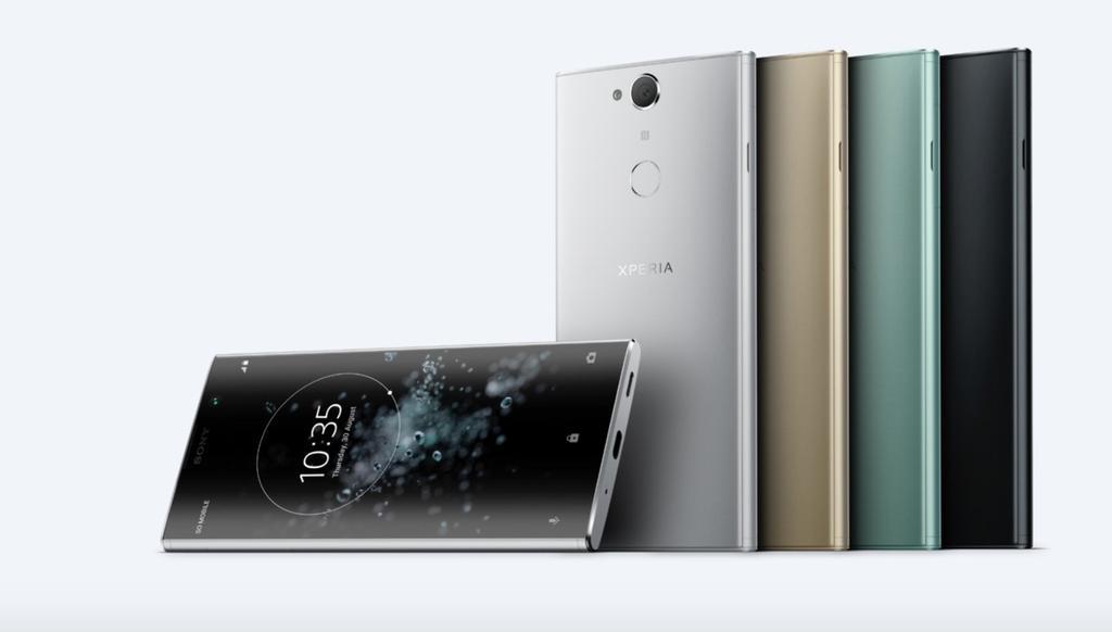 Colores del teléfono Sony Xperia XA2 Plus