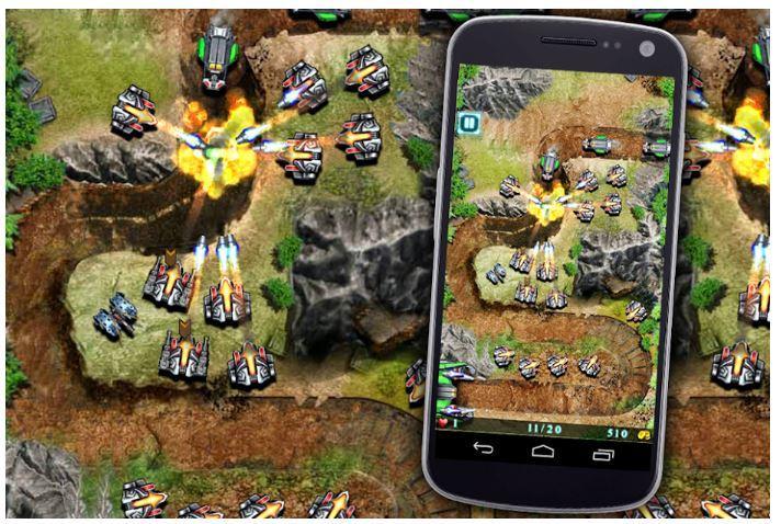 Juego Defense para Android