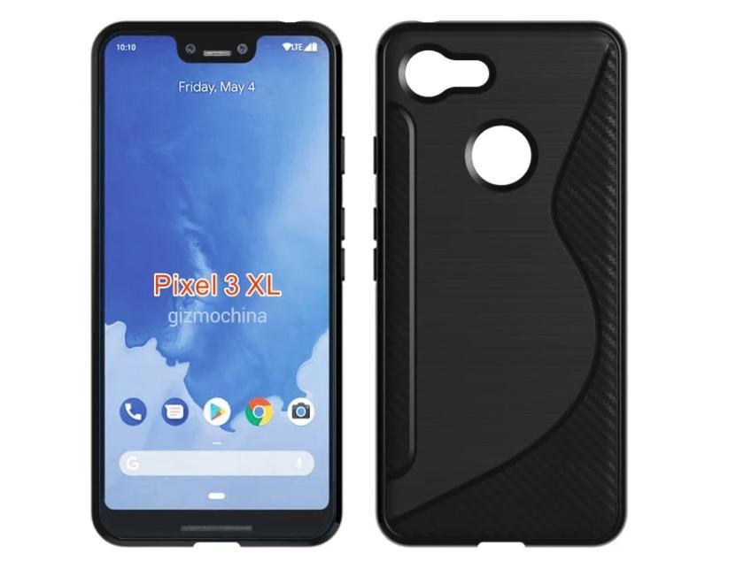 Diseño del Google Pixel 3 XL