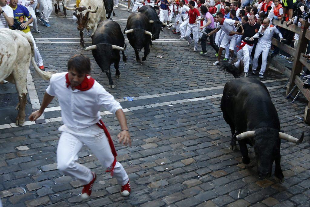 Encierro de las fiestas de San Fermín