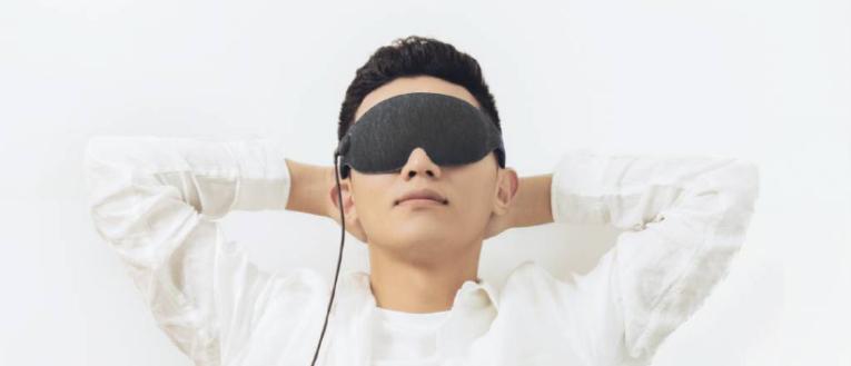 Uso gafas de descanso de Xiaomi