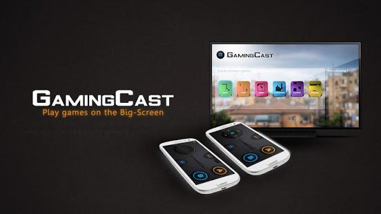 GamingCast para ChromeCast