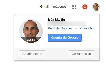 Cuentas navegador Gmail