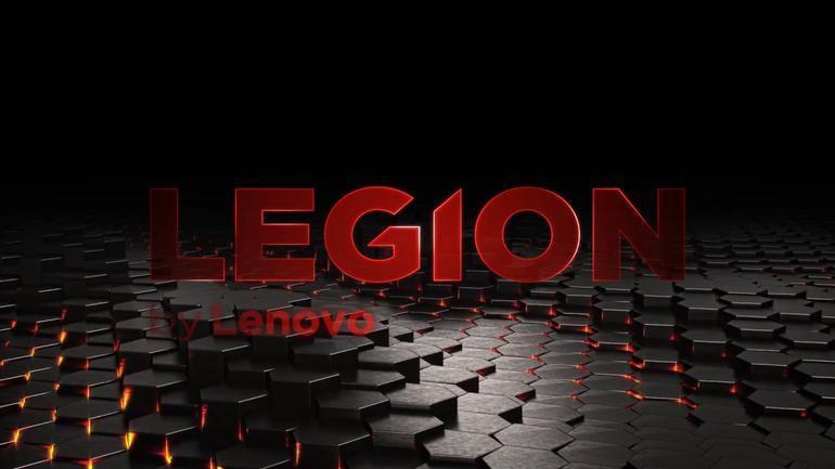 Logotipo de la marca Lenovo Legion