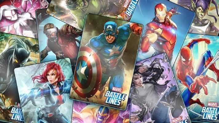 Juego Marvel Battle Line