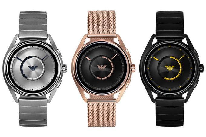 9456f18431df Nuevo reloj inteligente Emporio Armani Connected 2108