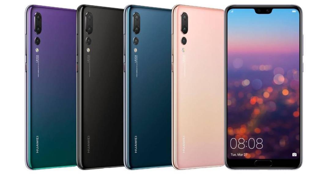Posible diseño del Huawei Mate 20 Pro