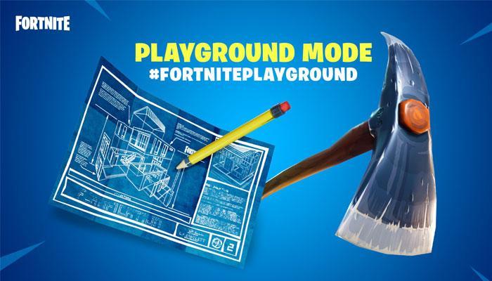 Playground Fortnite