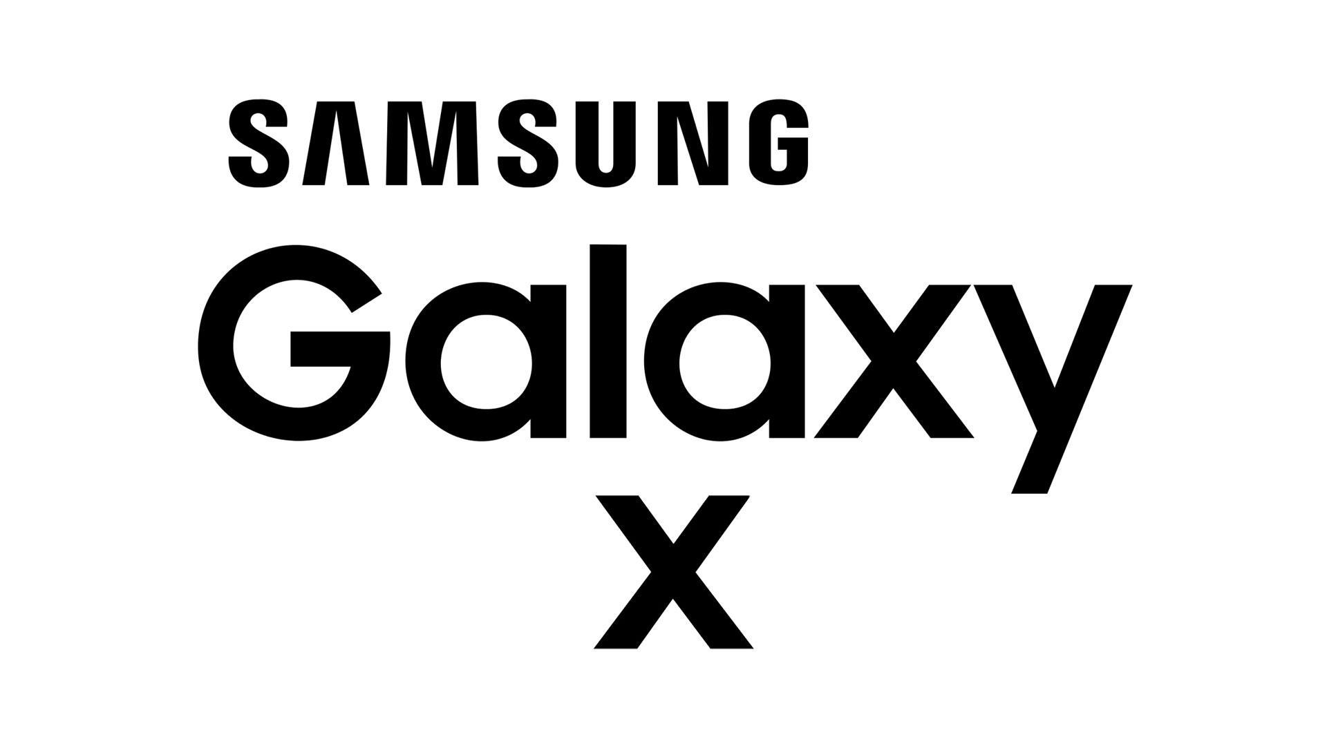 Logo del Samsung Galaxy X
