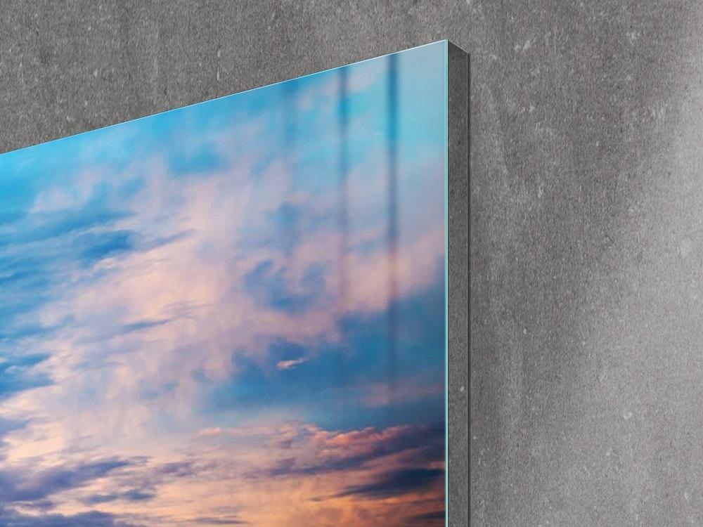 Lateral de Samsung The Wall