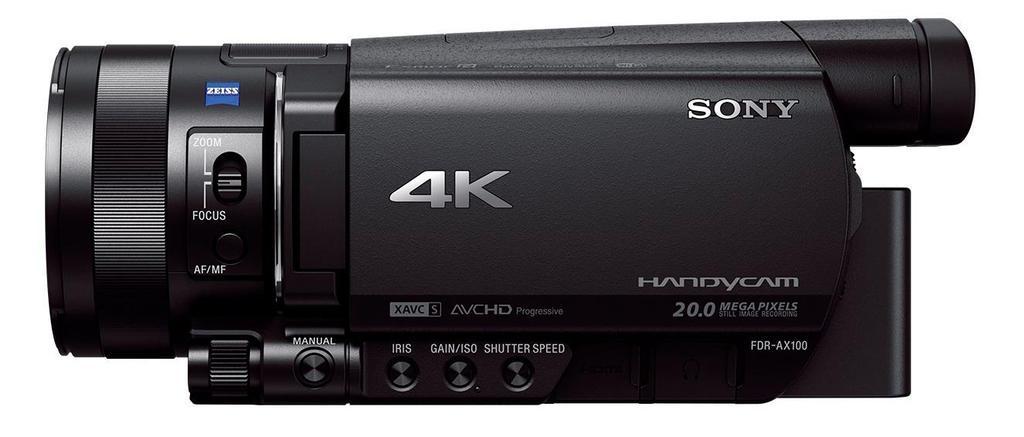 Videocámara Sony Handycam FDR-AX100E