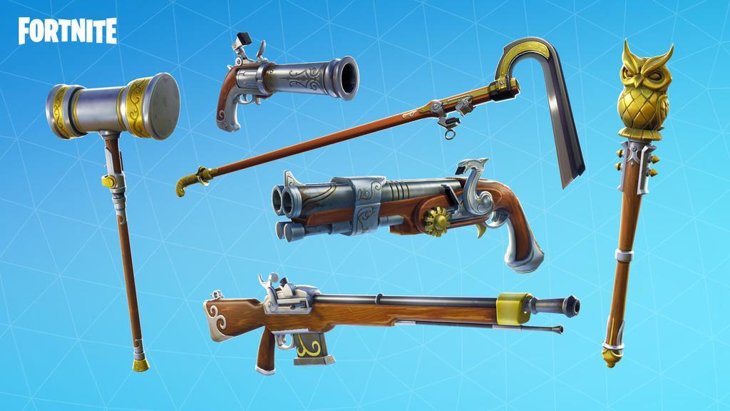 Nuevas armas en Temporada 5 de Fortnite