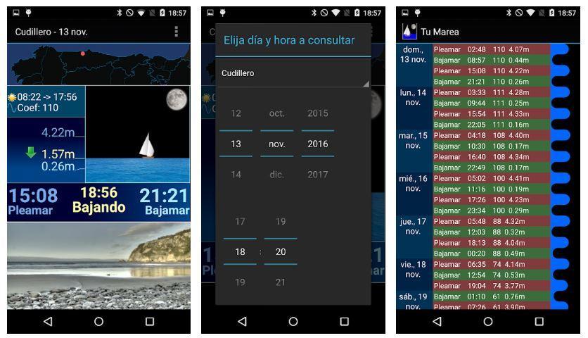 Aplicación Android Tu Marea