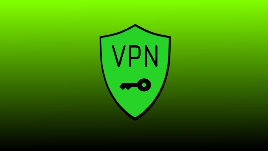 Logo VPN con fondo verde