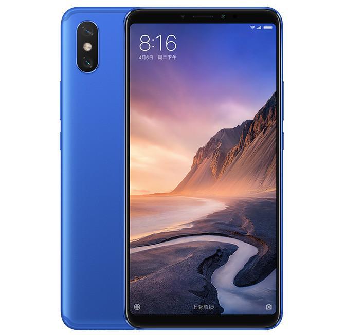 Xiaomi Mi Max 3 de color azul