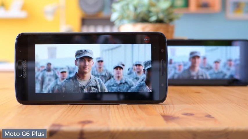 Xiaomi Redmi Note 5 y Moto G6 Plus