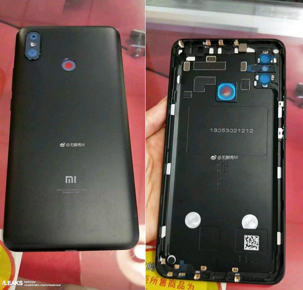 Panel trasero del Xiaomi Mi Max 3