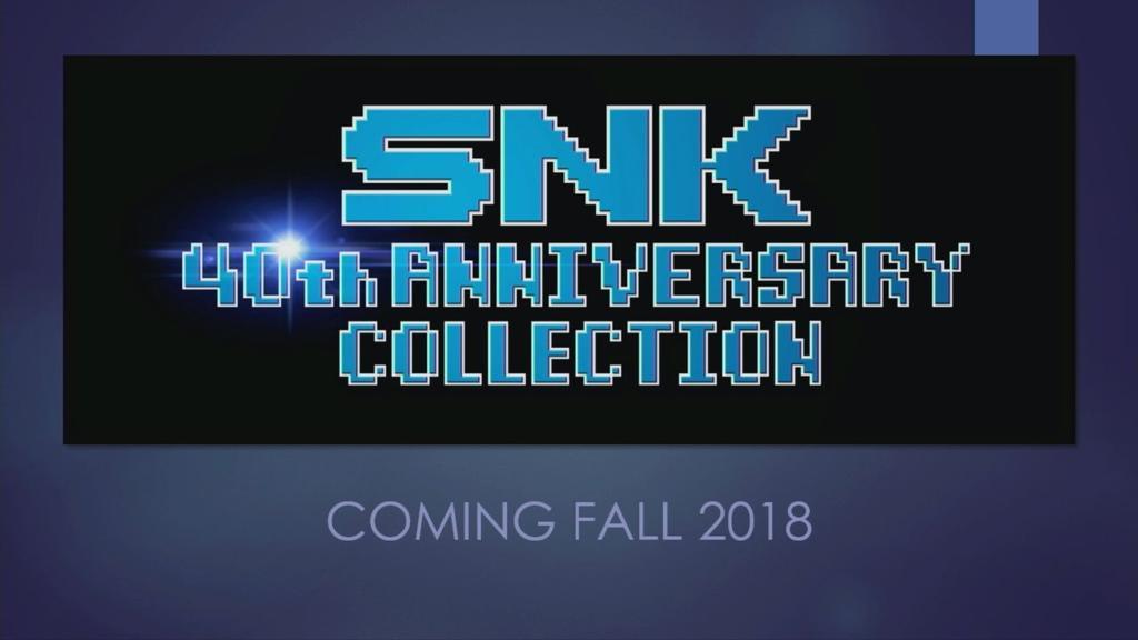 Juegos SNK cuarenta aniversario en Nintendo Switch