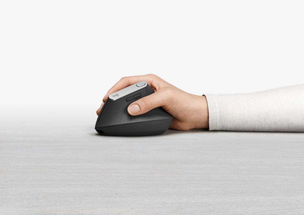 Uso del ratón Logitech MX Vertical